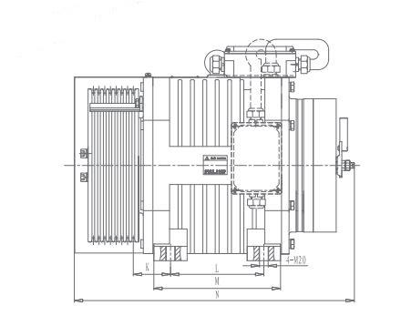 MRL motor