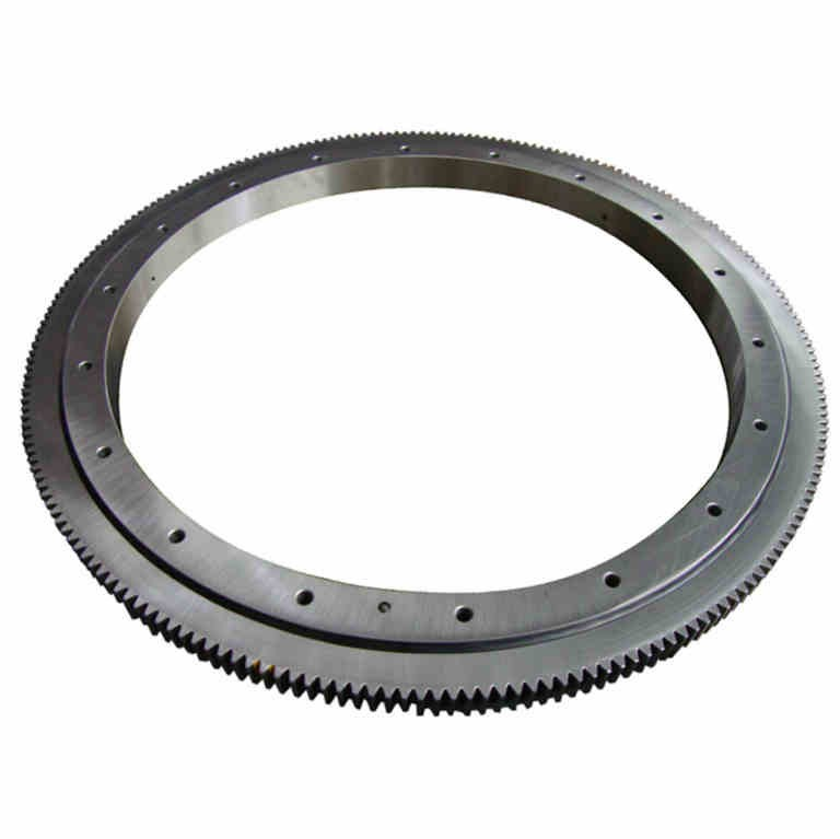 Turntable Bearing Design For Satellite Track
