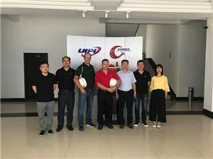 Customer visit UIPI facility