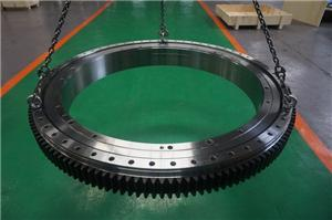 UIPI had delivered a triple row roller slewing bearing for Main Drive System of Tunnel Boring Machines
