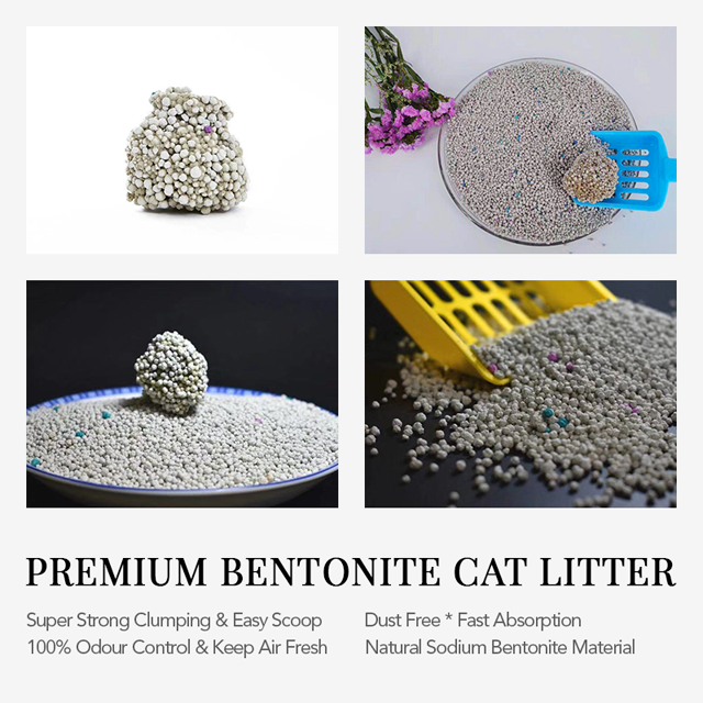 Deodorless And Dust-free Mixed White And Charcoal Bentonite Cat Litter Manufacturers, Deodorless And Dust-free Mixed White And Charcoal Bentonite Cat Litter Factory, Supply Deodorless And Dust-free Mixed White And Charcoal Bentonite Cat Litter