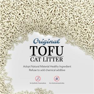 خالية من الغبار القط القمامة الرمال 2.0 الأصلي التوفو القط القمامة