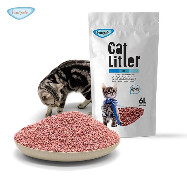 Broken Tofu Cat litter Suppliers, Supply broken tofu cat litter for cats, China broken tofu cat litter sand