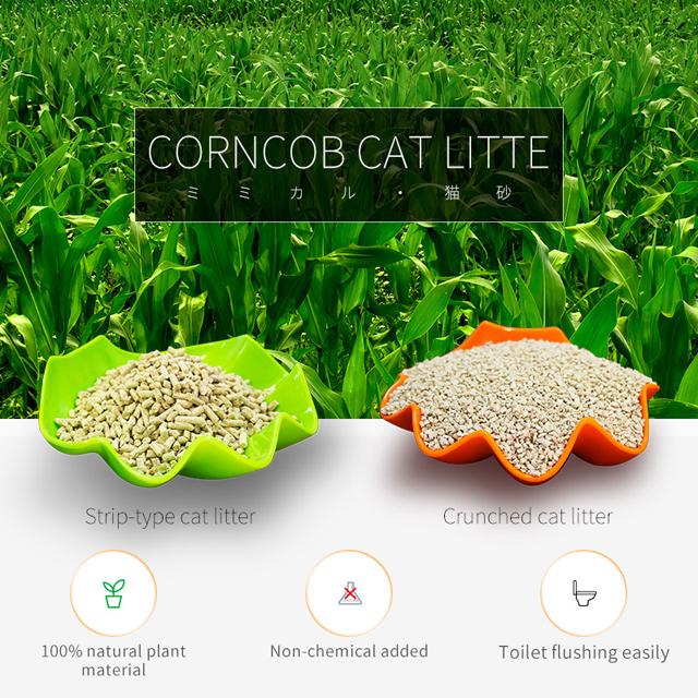 Green Tea Corncob Cat Litter