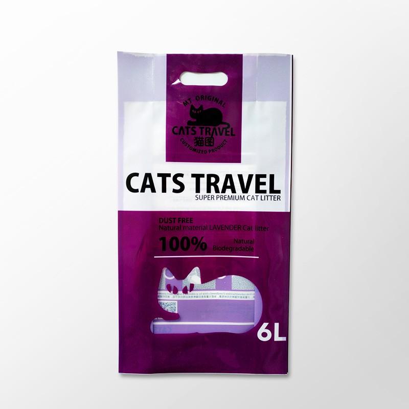 Plastic Mylar Bag For Cat Litter Packaging Bag