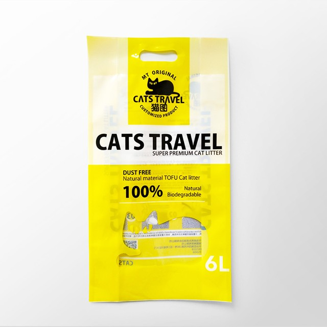 OEM Cat Litter Pet Products Packaging Bags