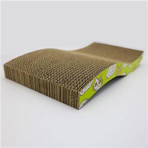 Cat Toy Cardboard With Shape S Cat Scratcher Pate