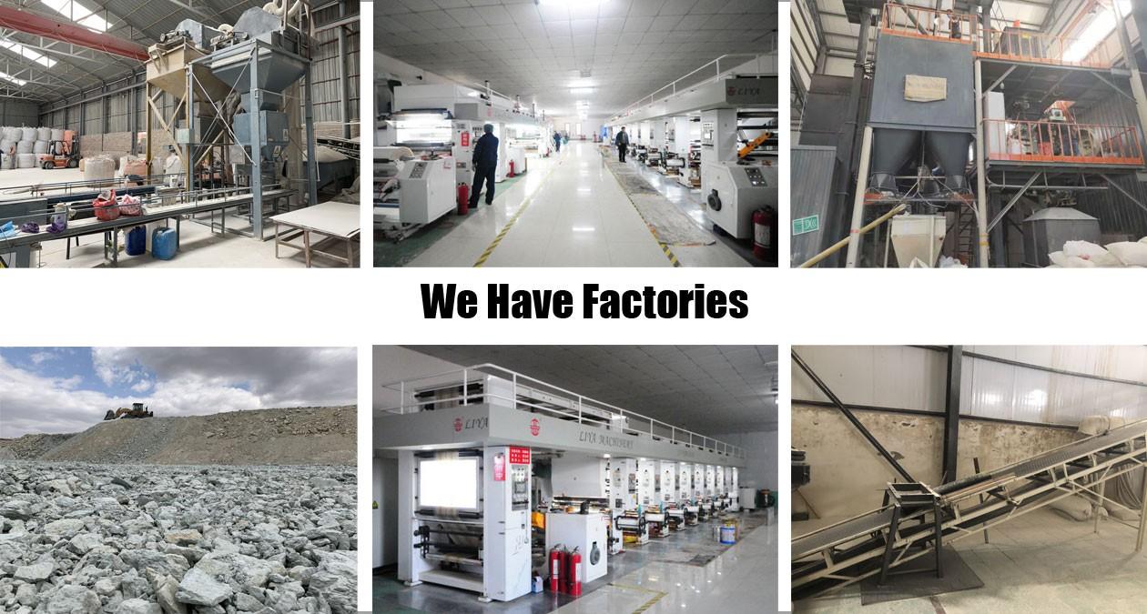 We have factories