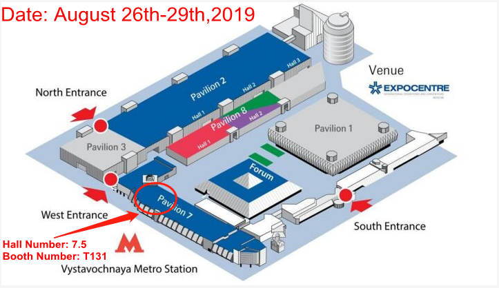 Dongsu Industry will attend MIMS AUTOMECHANIKA MOSCOW since Aug 26th-29th, 2019! HALL7.5 T131. Welcome to your visit!