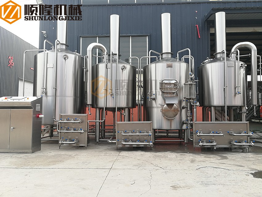 beer factory equipment