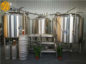 Équipement de brassage micro 1500L équipement de brassage de bière artisanale