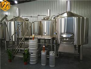 Système industriel de brasserie d'équipement de brassage de bière 2000L à vendre
