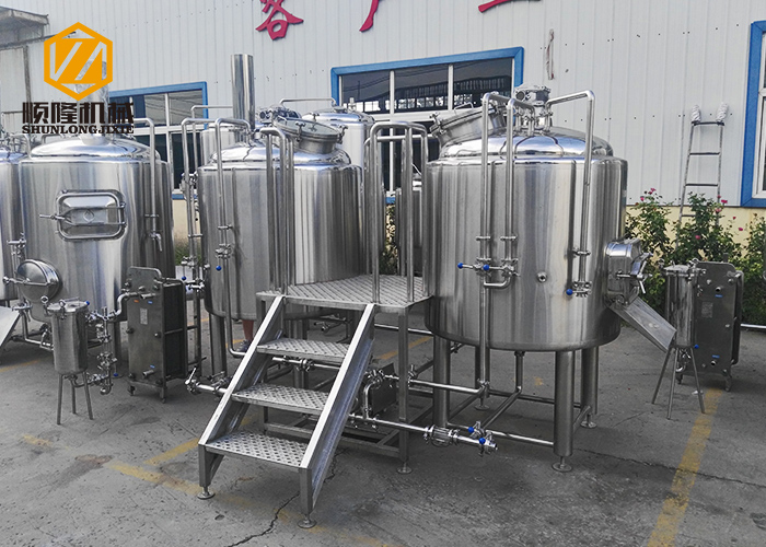 Trade Assurance Beer Brewery System Small Beer Brewing Equipment