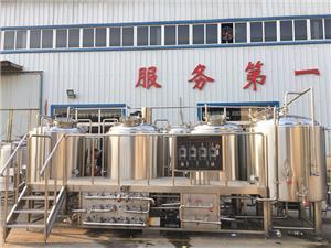 Équipement micro de brasserie de bière 1000L avec le contrôleur de brasserie à vendre