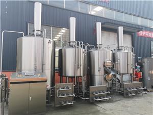 Équipement industriel de brassage de bière 2000L
