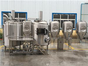 300L Small Beer Brewing Equipment For Pub Brewery