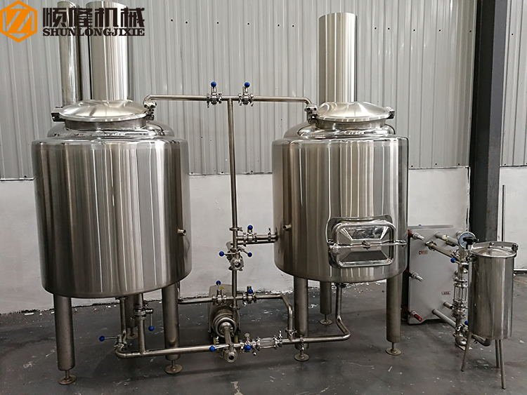 Stainless Steel Small Beer Brewing Equipment