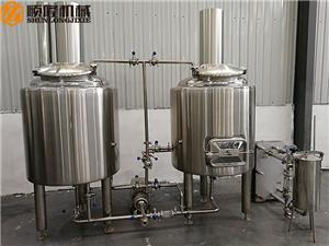 RVS kleine bierbrouwapparatuur