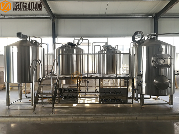 Large Beer Brewery Equipment Craft Beer Brewery System