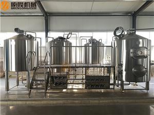 Groot brouwerijmateriaal Ambachtelijk bierbrouwerij-systeem