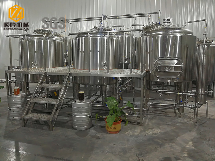 2000L Large Beer Brewery Equipment