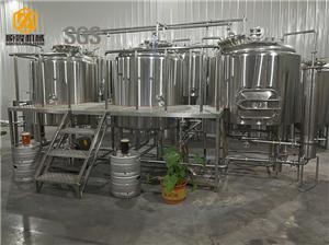 Apparatuur voor groot bierbrouwerij 2000L