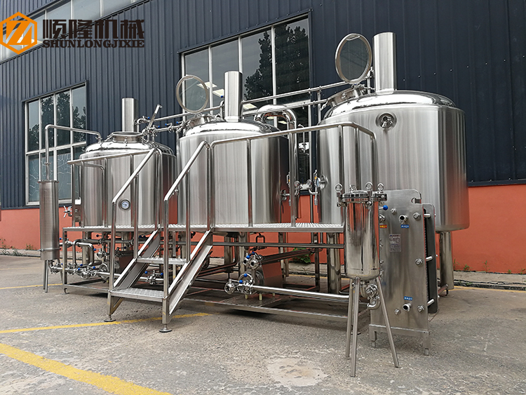 Projet de Turquie Complete Brewery 1000l Complet 1000l Micro Brewery Equipment