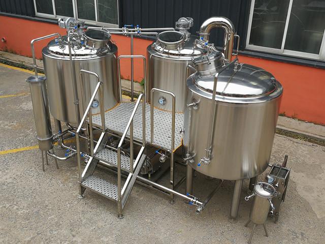 Turkey Plan 7BBL Small Beer Brewing Equipment