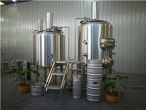 Projet de brassage de bière chaude vente 300L petit équipement de brassage de bière