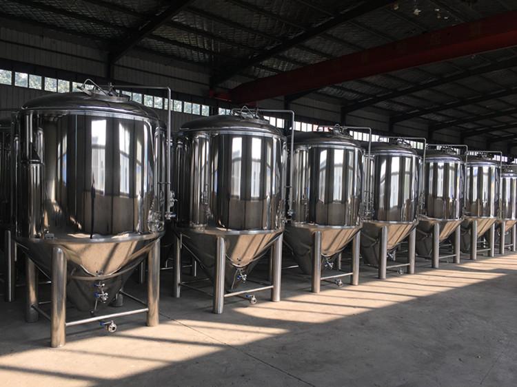Matériaux de miroir réservoirs de bière en acier inoxydable