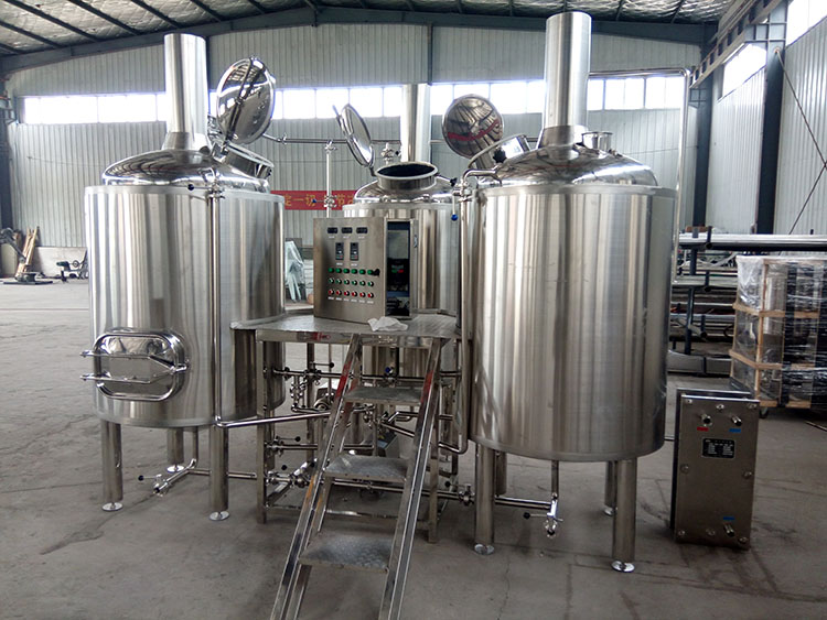 Steam Heating Beer Brewhouse System