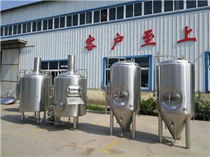 Petit équipement adapté aux besoins du client de brassage de la bière 300L