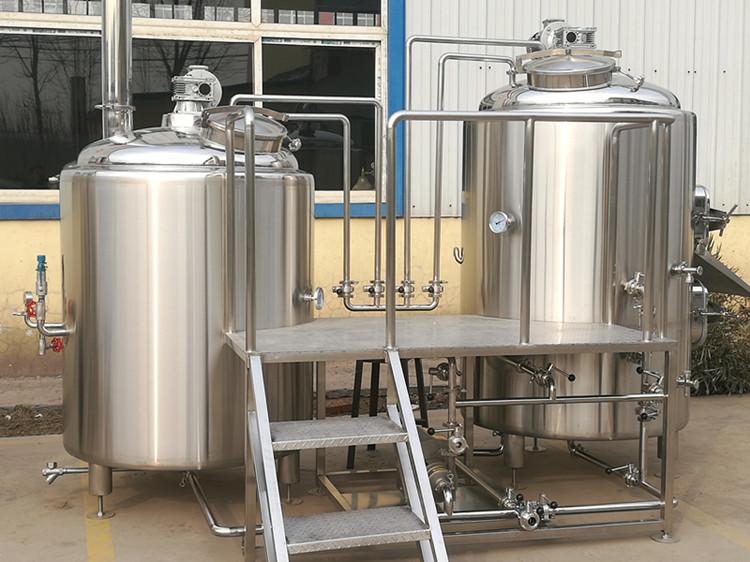 Chaîne de production complète de bière d'équipement de brasserie de bière artisanale 500L
