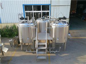 Popular Beer Brewing Equipment 1000L Brewery With Horizontal Motor