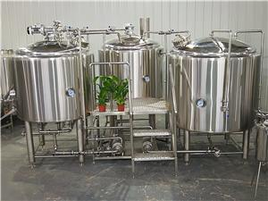 500L Electric Heating Beer Brewhouse System