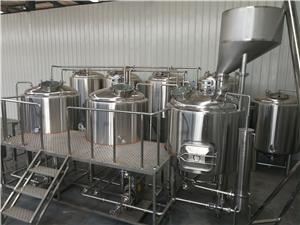 1500L Brewery System Micro Beer Brewery Equipment