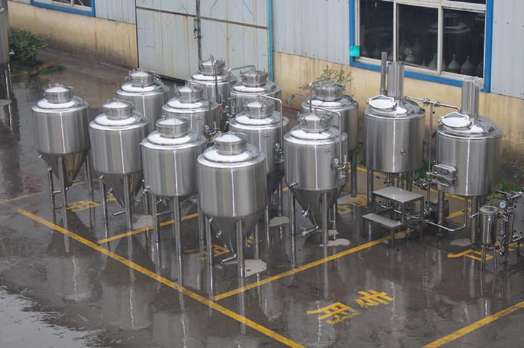 stainless steel beer fermenters