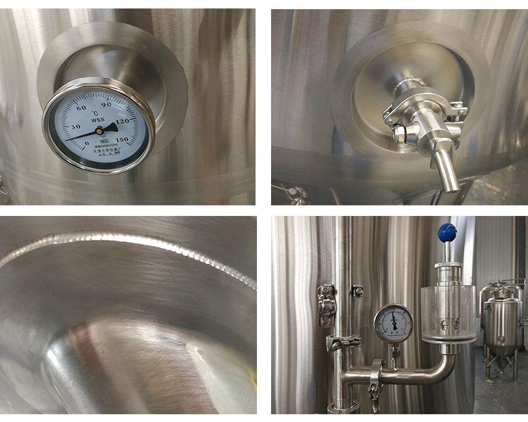 1800L beer brewing equipment supply