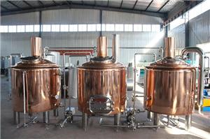 Red Copper Beer Brewhouse System