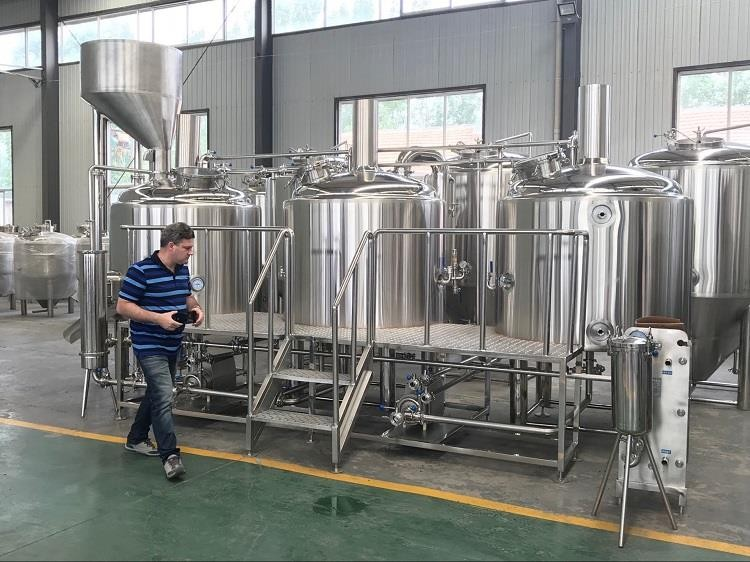 New Design Large Beer Brewery Equipment