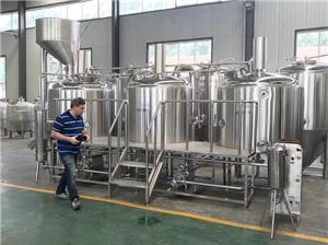 Nieuw ontwerp Grote bierbrouwerijapparatuur