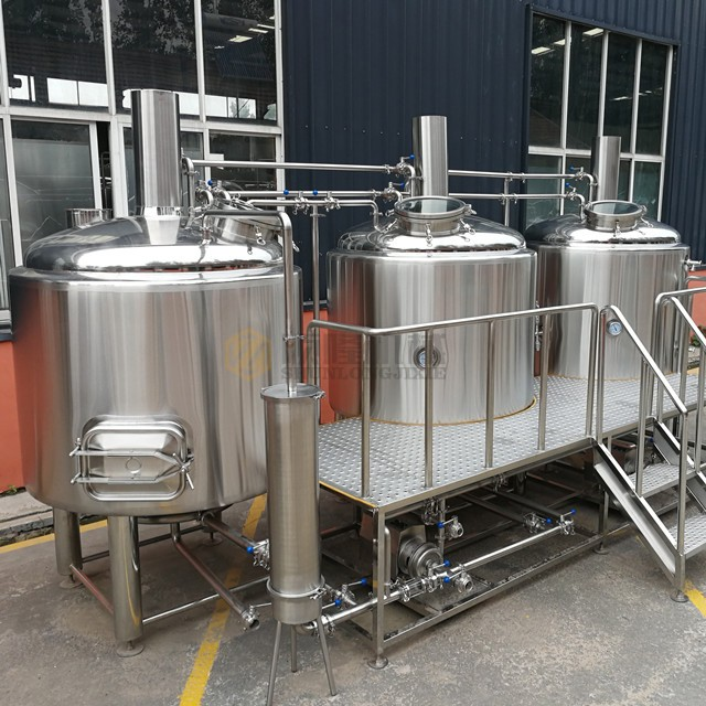 1000L Turnkey Beer Produciton Line Brewery System