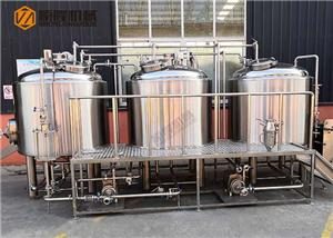 CE Certificate 1000L Beer Brewery Equipment With Mirror Polishing