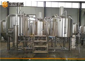 1200l Brewery Equipment For The Ber Brewing With Steam/direct Fire Heating