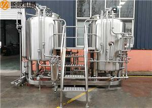 New Design 500L Brewhouse Complete Beer Brewery Equipment For Sale