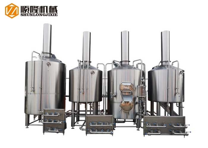 Larger Beer Factory Equipment China 20HL Beer Manufacturing Plant