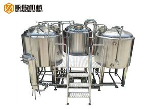 500L Beer Making System Beer Brewery Equipment For Sale
