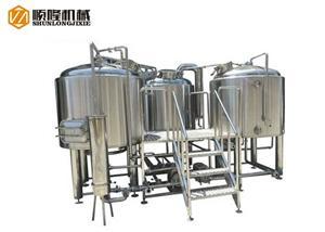 Équipement de fabrication clé en main de brasserie de bière 7bbl pour la brasserie micro