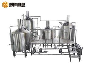 Top Cone Five Vessel Beer Brewhouse System
