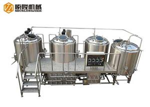 Mirror Polishing Craft Beer Brewery Equipment
